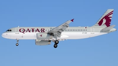 A7-AHS - Airbus A320-232 - Qatar Airways