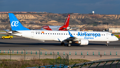 A picture of ECKYP - Embraer E195LR - Air Europa - © Turkish Planespotter
