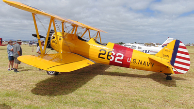 ZK-USN - Boeing A75N1 Stearman - Private