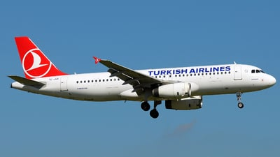 TC-JUE - Airbus A320-232 - Turkish Airlines
