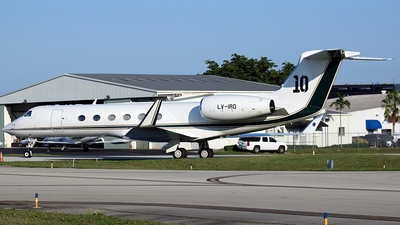 LV-IRQ - Gulfstream G-V - Private