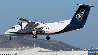 A picture of SXBIP - De Havilland Canada Dash 8100 - Olympic Air - © George Chaidaris