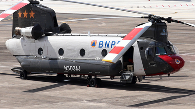 N303AJ - Boeing CH-47D Chinook - BNPB - Indonesian National Board for Disaster Management