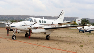 ZS-LZR - Beechcraft C90A King Air - Private