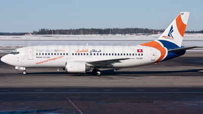 TS-IEF - Boeing 737-3Q8 - Karthago Airlines
