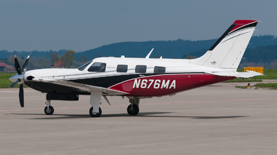 N676MA - Piper PA-46-500TP Meridian - Private