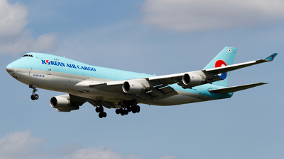 HL7449 - Boeing 747-4B5F(SCD) - Korean Air Cargo