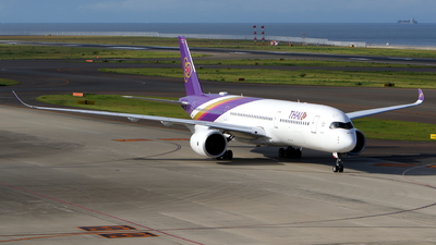 HS-THB - Airbus A350-941 - Thai Airways International