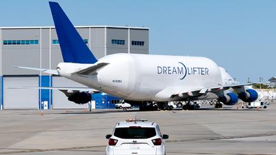 A picture of N780BA - Boeing 747409(LCF) Dreamlifter - Boeing - © Luis Bastardo
