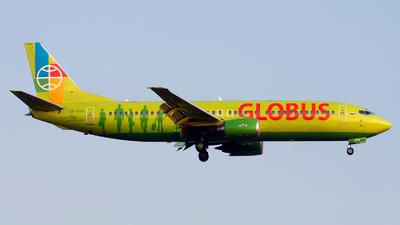 VP-BTA - Boeing 737-4Q8 - Globus Airlines