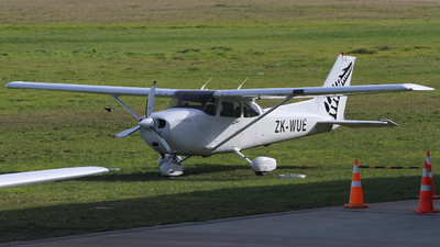 ZK-WUE - Cessna 172R Skyhawk II - New Zealand International Commercial Pilot Academy