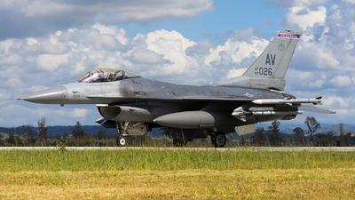89-2026 - Lockheed Martin F-16C Fighting Falcon - United States - US Air Force (USAF)