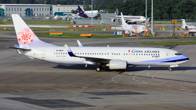 B-18607 - Boeing 737-809 - China Airlines