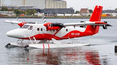 A picture of HBLWB - De Havilland Canada DHC6300 Twin Otter - [565] - © Matteo Lamberts