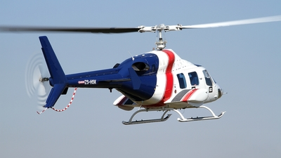 ZS-HSK - Bell 222UT - Private