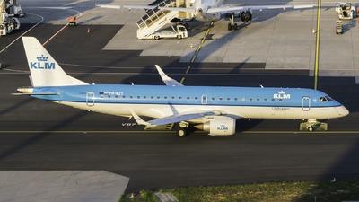 PH-EZY - Embraer 190-100STD - KLM Cityhopper