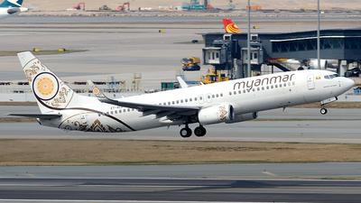 A picture of XYALB - Boeing 73786N - Myanmar National Airlines - © Paul Y. M. Chow - AHKGAP