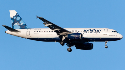 N627JB - Airbus A320-232 - jetBlue Airways