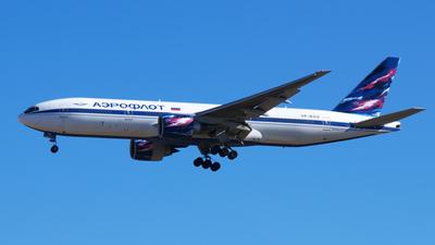 VP-BAU - Boeing 777-2Q8(ER) - Aeroflot