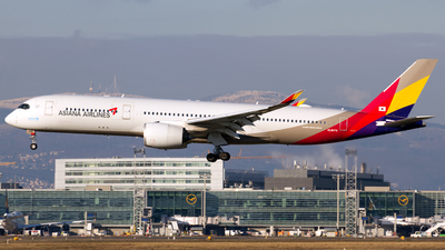 A picture of HL8078 - Airbus A350941 - Asiana Airlines - © Marc Lehmann