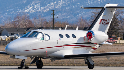 N72AG - Cessna 510 Citation Mustang - Private