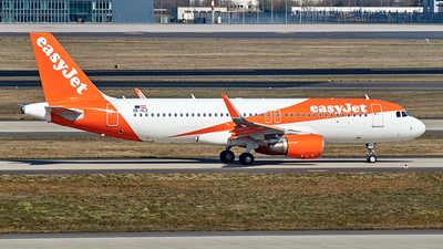 A picture of OEICZ - Airbus A320214 - easyJet - © JakkoFly