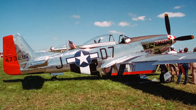 N5445V - North American P-51D Mustang - Private
