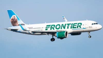 N363FR - Airbus A320-251N - Frontier Airlines