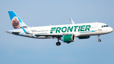A picture of N363FR - Airbus A320251N - Frontier Airlines - © Aviation_DCA