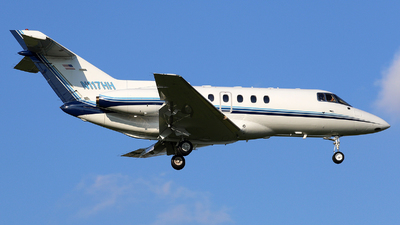 N117HH - Raytheon Hawker 800 - Private