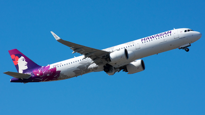 N212HA - Airbus A321-271N - Hawaiian Airlines