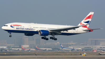 G-YMMO - Boeing 777-236(ER) - British Airways