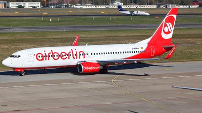 D-ABKW - Boeing 737-86J - Air Berlin (TUIfly)