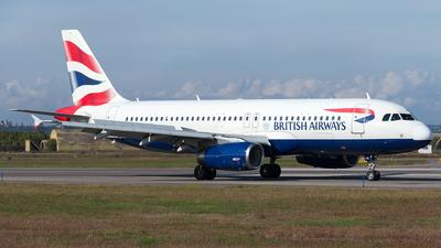 A picture of GEUUC - Airbus A320232 - British Airways - © Monica De Guidi