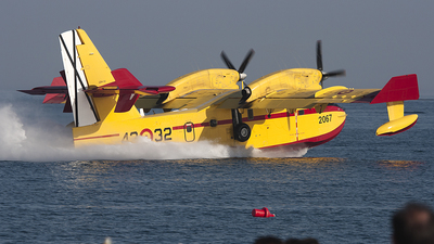 UD.14-02 - Canadair CL-415 - Spain - Air Force