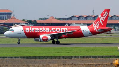 PK-AXR - Airbus A320-216 - Indonesia AirAsia