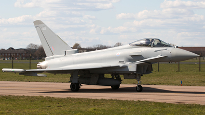 ZK341 - Eurofighter Typhoon FGR.4 - United Kingdom - Royal Air Force (RAF)