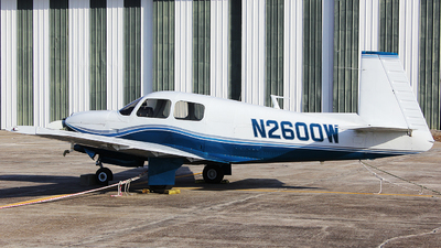 N2600W - Mooney M20C - Private