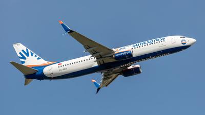 A picture of TCSEU - Boeing 7378HC - SunExpress - © Hanjo Schrenk