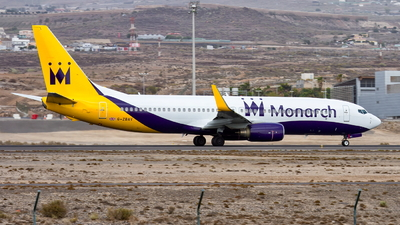 G-ZBAV - Boeing 737-82R - Monarch Airlines