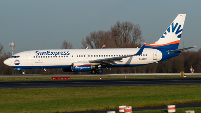A picture of DASXY - Boeing 7378AS - SunExpress - © Chris de Breun