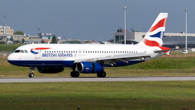 A picture of GEUYB - Airbus A320232 - British Airways - © Rui Marques