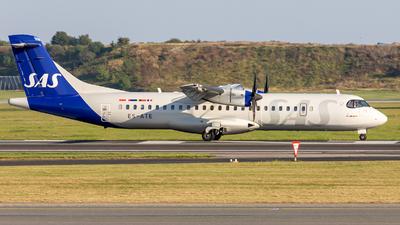ES-ATE - ATR 72-212A(600) - Scandinavian Airlines (Xfly)