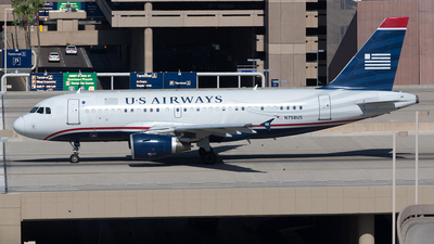 N758US - Airbus A319-112 - US Airways