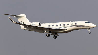 N113CS - Gulfstream G650ER - Private