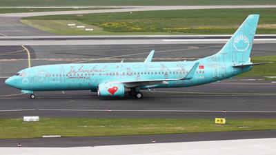 TC-SUZ - Boeing 737-8HX - SunExpress