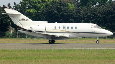 N881JC - Hawker Beechcraft 900XP - Private
