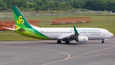 JA01GR - Boeing 737-81D - Spring Airlines Japan