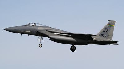 83-0036 - McDonnell Douglas F-15C Eagle - United States - US Air Force (USAF)