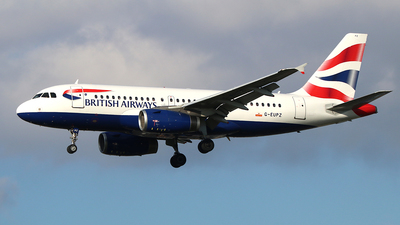A picture of GEUPZ - Airbus A319131 - British Airways - © Ferenc Kolos